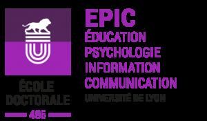 Ecole doctorale EPIC ED 485