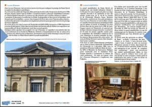 catalogue UTA - extrait présentation bâtiment université quai Claude Bernard Lyon